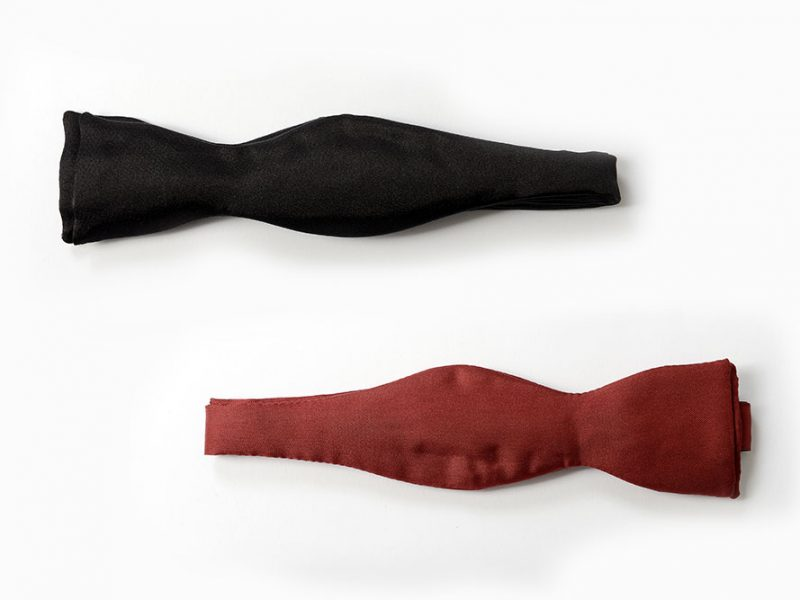 "Bow ties ""self tie"""