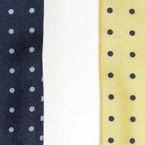 Andrew's Ties - Ascot Pois - Dettaglio - Detail