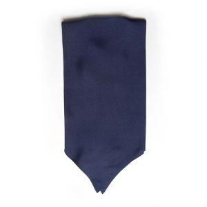 Andrew's Ties - Ascot - Tinta Unita - Solid Color - Blu - Blue COD.AU005