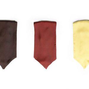 Andrew's Ties - Ascot Tinta Unita - Solid Color - Presentazione - Presentation
