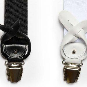 Andrew's Ties - Bretella Elastico - Elastic Suspender - Dettaglio - Detail