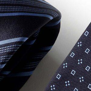 Andrew's Ties - Extralunga - Extra Long - Blu Azzurro - Blue Light Blue - Dettaglio - Detail
