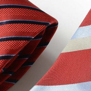 Andrew's Ties - Extralunga - Extra Long - Fondo Rosso - Red Background - Dettaglio - Detail