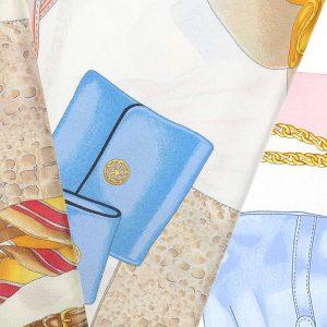 Andrew's Ties - Foulard Disegno Borse - Bags Design Foulard - Dettaglio - Detail