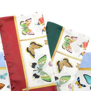 Andrew's Ties - Foulard Disegno Farfalle - Butterfly Design Foulard - Presentazione - Presentation