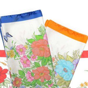 Andrew's Ties - Foulard Disegno Fiori - Flowers Design Foulard - Presentazione - Presentation