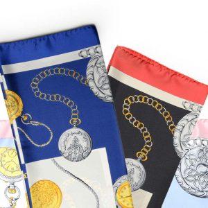 Andrew's Ties - Foulard Disegno Orologi - Watches Design Foulard - Presentazione - Presentation