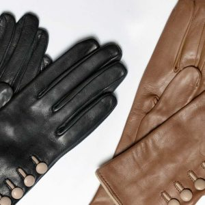 Andrew's Ties - Guanto Pelle Donna - Woman Leather Glove - Dettaglio - Detail