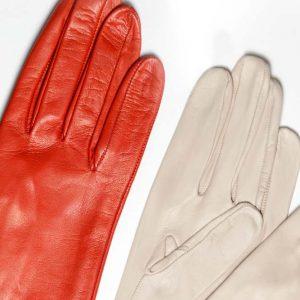 Andrew's Ties - Guanto Pelle Donna - Woman Leather Glove - Piegolino Sfoderato - Unlined - Dettaglio - Detail