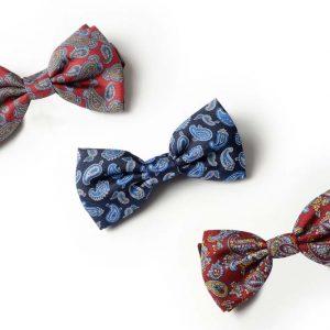 Andrew's Ties - Papillon Fantasia Disegno Cashmere - Fantasy Bow Tie Cashmere Design - Presentazione - Presentation