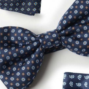 Andrew's Ties - Papillon Fantasia - Fantasy Bow Tie - Blu Azzurro - Blue Light Blue - Dettaglio - Detail