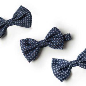 Andrew's Ties - Papillon Fantasia - Fantasy Bow Tie - Blu Azzurro - Blue Light Blue - Presentazione - Presentation