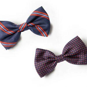 Andrew's Ties - Papillon Fantasia - Fantasy Bow Tie - Blu Rosso - Blue Red - Presentazione - Presentation