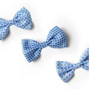 Andrew's Ties - Papillon Fantasia - Fantasy Bow Tie - Fondo Azzurro - Light Blue Background - Presentazione - Presentation