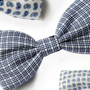 Andrew's Ties - Papillon Fantasia - Fantasy Bow Tie - Fondo Bianco - White Background - Dettaglio - Detail
