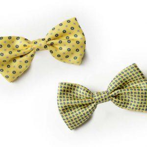 Andrew's Ties - Papillon Fantasia - Fantasy Bow Tie - Fondo Giallo - Yellow Background - Presentazione - Presentation