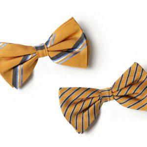 Andrew's Ties - Papillon Fantasia - Fantasy Bow Tie - Fondo Ocra - Ocher Background - Presentazione - Presentation
