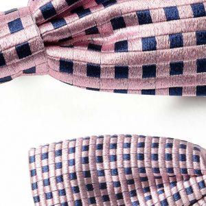 Andrew's Ties - Papillon Fantasia - Fantasy Bow Tie - Fondo Rosa - Pink Background - Dettaglio - Detail