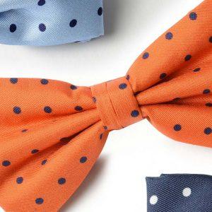 Andrew's Ties - Papillon Pois - Pois Bow Tie - Dettaglio - Detail