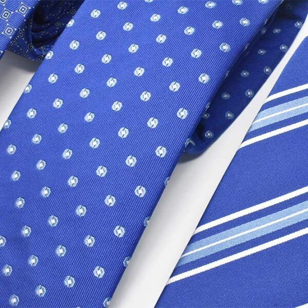 Electric Blue Background Ad Ties
