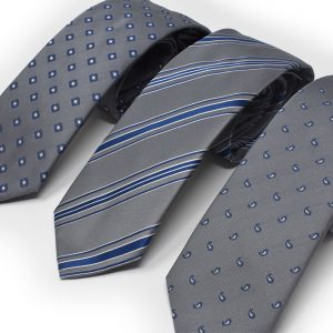Andrew's Ties - cravatte sfondo grigio jacquard - grey background jacquard ties - Presentazione - Presentation