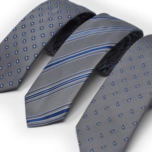 Andrew's Ties - cravatte sfondo grigio jacquard - grey background jacquard ties - Presentazione - Presentation