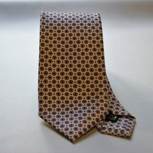 Collection ties - white - classic design - COD.N013 - silk 100%