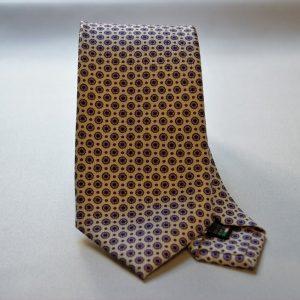 Cravatta collection - bianco - disegno classico - COD.N013 - seta 100%