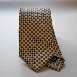 Collection ties - white - classic design - COD.N014 - silk 100%