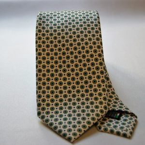 Collection ties - white - classic design - COD.N015 - silk 100%