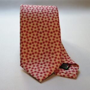 Collection ties - white - classic design - COD.N016 - silk 100%