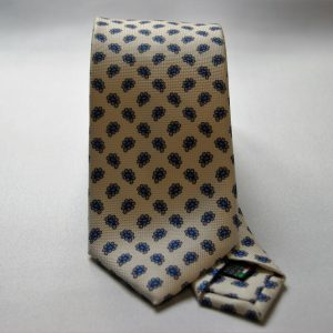 Collection ties - white - design Fantasy - COD.N001 - silk 100%