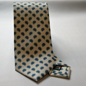 Collection ties - white - design Fantasy - COD.N003 - silk 100%