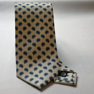 Collection ties - white - design Fantasy - COD.N003 - silk 100%