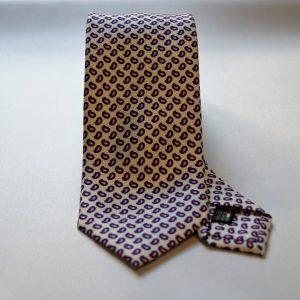 Collection ties - white - design Fantasy - COD.N004 - silk 100%