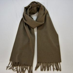 Cashmere scarf -185x35 cm. - 100% cashnere - dove gray - COD.NSC004 - made in Italy