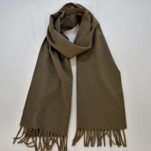 Sciarpa cashmere -185x35 cm. - 100% cashnere - tortora - COD.NSC004 - made in Italy