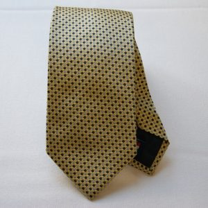 Jacquard ties - color story yellow - micro design - COD.N030 - silk 100%