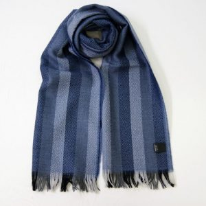 Wool scarf - 190x37 cm - avion background - 100% wool - COD.NSL003 - made in Italy