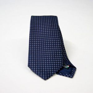 Jacquard ties – cm.7 – blue light blue – COD.ST001 – 100% silk – made in Italy